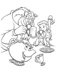 Small Picture Lumiere Beauty and the Beast color page disney coloring pages
