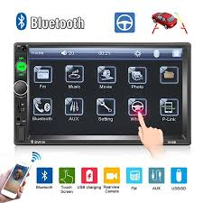 "Camecho 2 Din Car Radio <b>7</b>"" <b>HD Player MP5</b> Touch Screen Digital ..."