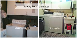 Small Laundry Renovations Beautiful Unfinished Basement Laundry Room Makeover Rooms
