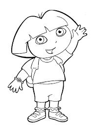 Dora Kinder Kleurplaten Dora