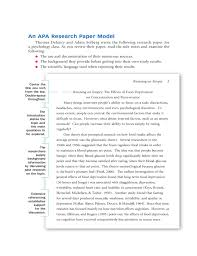 Examples Of An Outline For A Research Paper Apa Style How To Write Outline For Research Paper Apa Style Specialists
