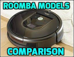 Roomba Comparison Chart