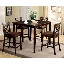 furniture of america gizelle 5 piece counter height table set hayneedle