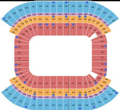 Nissan Stadium Cma Fest Seating Chart Lp Field Tickets And Lp Field Seating Charts 2019 Lp Field