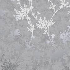 chevril metallic fl wallpaper