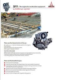 deutz fl 913 engine specs bolt torques and manuals image deutz 912 spec sheet for construction engines p1