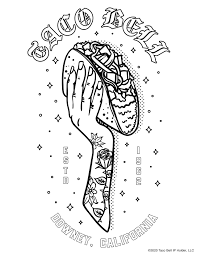Our world is so exciting that every its particle may cause our curiosity and desire to explore it. Taco Bell Coloring Pages You Didn T Know You Needed