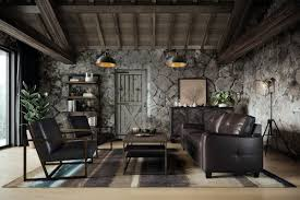 a scott designed elevated industrial living room by casaza