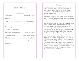 Child Funeral Program Template 24 Funeral Program Sample Teknoswitch 18