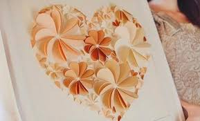 Paper Art Flower How To Make 3d Flower Paper Artwork Easy Craft Idea For Kids And