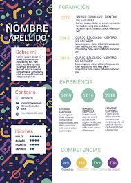 Formatos De Curriculum Vitae En Word Gratis
