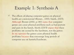 synthesis essay presentation  11