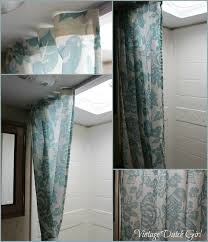 change out travel trailer shower curtain tutorial love fantasy in addition to 19 best available replacement rv shower curtain rods