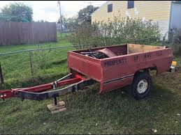 Pickup Bed Trailer Build, From Scrap/Leftovers! - YouTube