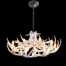 chandeliers vintage antler chandelier lighting industrial fixture country 8 lights fit for living