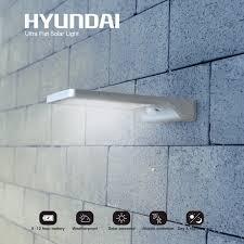 Hyundai Ultradunne Led Solar Buitenlamp Op Zonne Energie Met