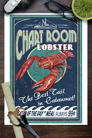 Details About Cataumet Cape Cod Ma Chart Room Lobster Lp Artwork Posters Wood Metal Signs