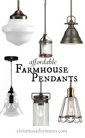 hanging lighting fixtures. Dining Room Cozy Farmhouse Pendant Lighting Fixtures Affordable Kitchen Design Elements Christinas Adventures LightingKitchen FixturesKitchen Awesome Hanging G