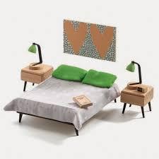 miniature modern furniture. fine modern 116 djeco dollhouse is throwback modern cuteness on miniature furniture