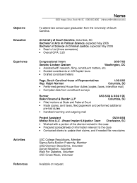 Capitol Hill Resume Sample