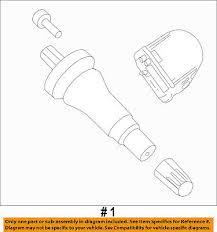 Ford Oem Tire Pressure Monitor Tpms Sensor Hc3z1a189a