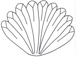 turkey feathers coloring pages. Interesting Turkey Turkey Feather  Clipart Library For Feathers Coloring Pages K
