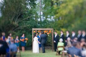 Wedding Seasons Fall Weddings Take Center StageBackyard Fall Wedding