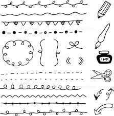 手書きのライン素材 イラスト素材 3932526 フォトライブラリー