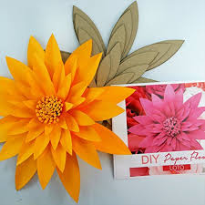 Paper Flower Kit Paper Flower Template Kit Pattern Diy Make Your Own Flower Backdrop Photo Booth Flower Decoration Card Stock Lotto