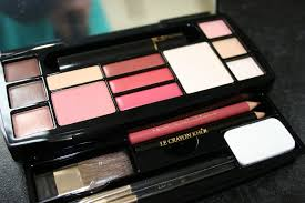 airport beauty lane and clinique travel palettes