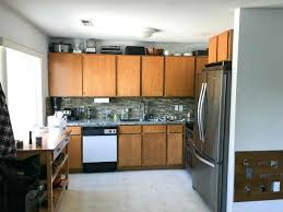 painting oak cabinets white our kitchen remodel tastes lovely pictures painting oak cabinets white adding wood