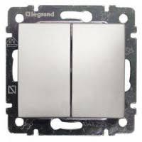 Механизм <b>выключателя Legrand Valena</b> 770105 двухклавишный ...