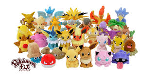 All pokemon plush toys