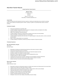 Head Start Teacher Assistant Sample Resume Awesome Starting A Resume Writing Business Templates Franklinfire Co 44 44