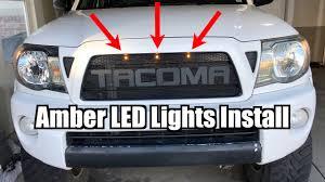 Tacoma Grill Lights Install Tacoma Amber Led Lights Install