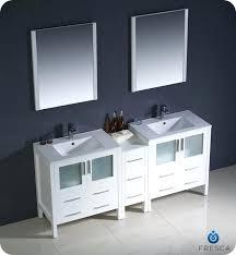 vanities modern double sink vanity modern double sink bathroom vanity w one side cabinet two