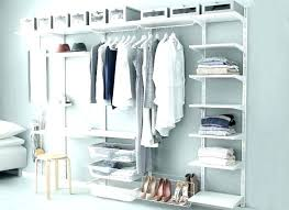 ikea wardrobe hanging system closet organizer ias storage solutions shoe hanging systems system shelves home remol