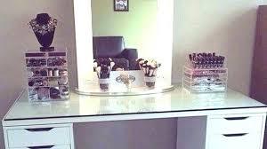 make up desks attractive amazing vanity makeup desk with lights table and chair regarding 2