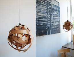 lighting diy. Another Wood Veneer Pendant Lamp. Lighting Diy T