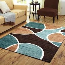 brown and blue area rugs new aqua garage cute turquoise rug 3 throughout 5