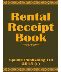 Rent A Book Online Free Rent Receipt Book