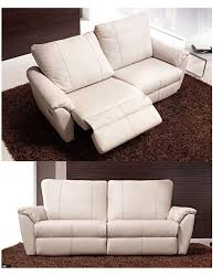 modern reclining loveseat. Cozy Recliner Loveseat For Your Contemporary Family Room Decor Ideas: Modern Leather Reclining O