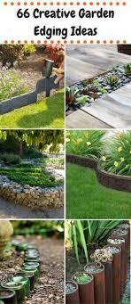 cheap garden edging. 66 Creative Garden Edging Ideas - Using Rocks, Hoses, Wine Bottles, Metal Wheels Cheap