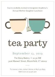 Tea Party Invitations Free Template Tea Party Invitations With Animals Birthday Invitation