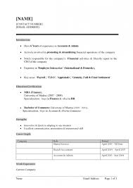 Blank Simple Biodata Format For Job Fresher Resume Template Example
