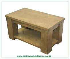 rustic pine architectural baer coffee table full size