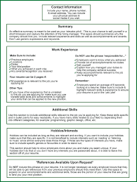 Need To Do A Resume Resume Information On Resume