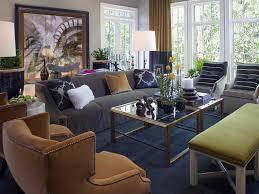 blue carpet living room decorating