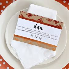 simple diy thanksgiving place cards