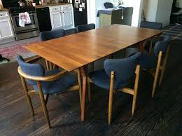 Expandable Dining Room Table West Elm Mid Century Expandable Dining Table  Set In Flushing With Designs